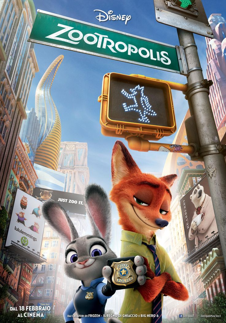 Zootropolis: la nuova avventura d'animazione Disney arriva al cinema in oltre 650 copie