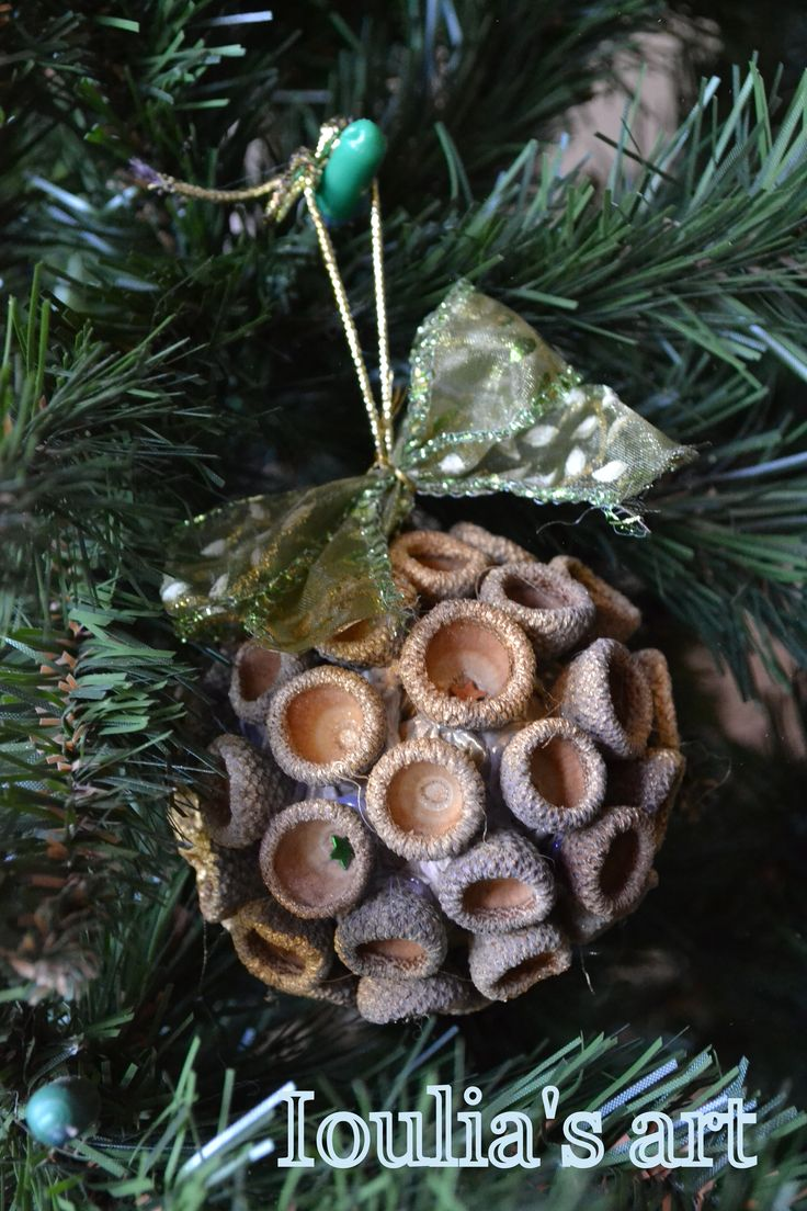 Christmas DIY - Acorns
