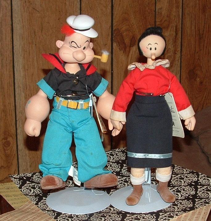 popeye and olive oyl doll
