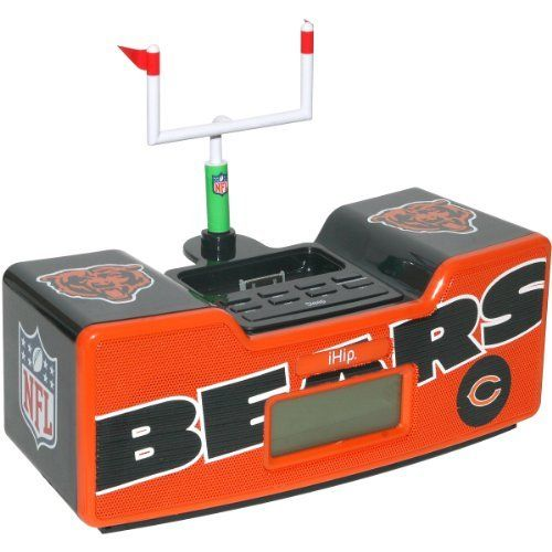NFL Chicago Bears Dual Alarm Clock Radio/Ipod Dock by Zeikos. $29.99. Save 63%!