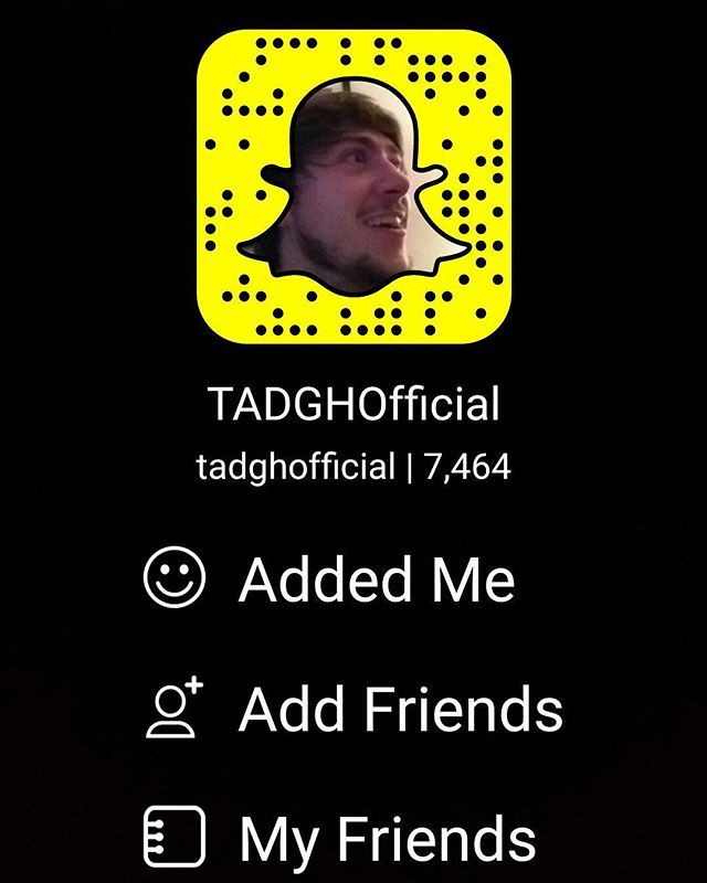Add my #Snapchat for #awesome #banter  X