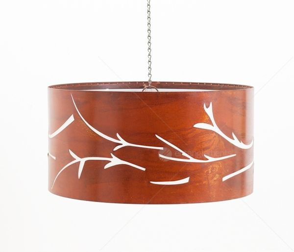 Entanglements Metal Laser Cut Pendant Lighting - Swirl.