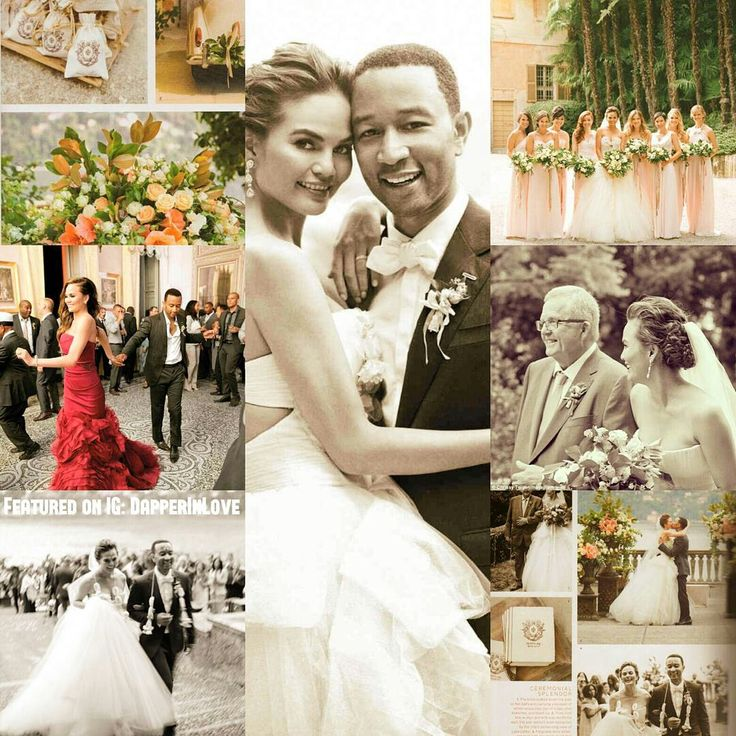 💗👰💫💗 #FlashbackFriday: #Celebrity #Wedding Edition: ✨ 3. 🎹 #JohnLegend and #ChrissyTeigen...  {Follow Pinterest's photo link for full details!} ✨ #PutARingOnIt 💎💍 ✨ #weddingseason #weddinginspiration #Italy #marriage #jewelry #hairstyles #bridalhair #glam #makeup #music #hairofpinterest #luxury #couture #weddingplanning #Pinterestbeauty #weddingdress #IDo #lookoftheday #fashion #photography #photooftheday #weddingphotography #outfitoftheday #followfriday