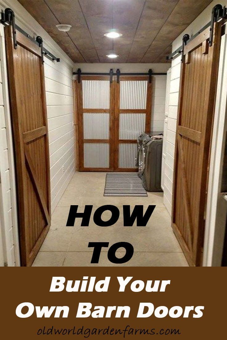 How To Build A Diy Barn Door With Hardware On The Cheap Diy