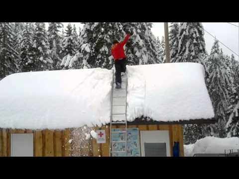 Snow Removal From Roof Fail And Win Funny Favorite