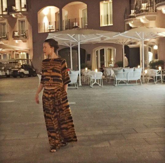 Gabriella Pession, matrimonio a sorpresa a Portofino