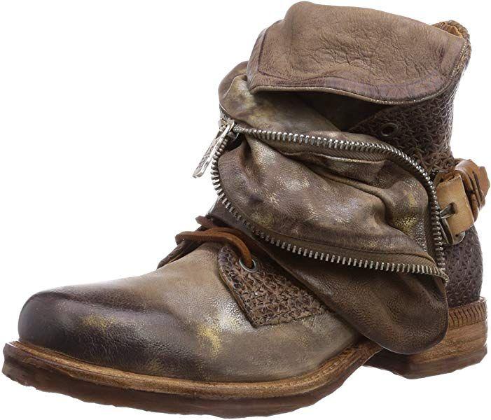 new photos 0368d 0a333 A.S.98 520206-1010-5628, Damen Biker Boots, Braun (rino+rino ...