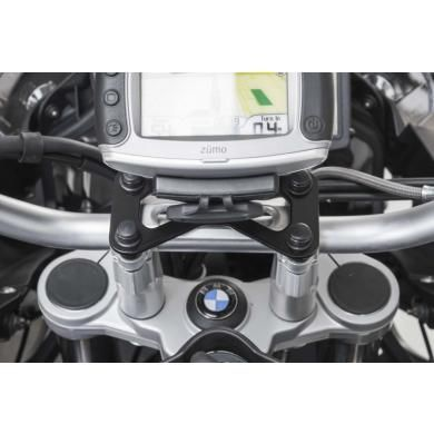 SW-MOTECH Vibration-Damped Quick Release GPS Holder for BMW F650GS '08-'12, F700GS '13-'14, F800GS '08-'14 & F800GS Adventure '14