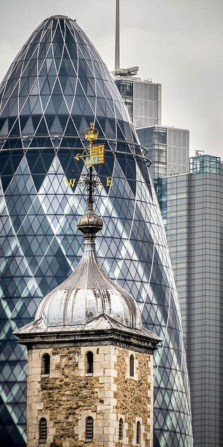 The Tower and The Gherkin - I did not have time to go see these last summer when I was in London, but maybe next time (May2015)