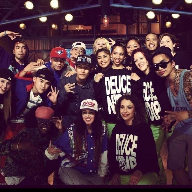 Won 1st place @ Much Music's NML Best dance crew. Summer '12