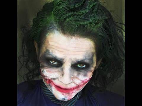 Best 25+ Joker makeup tutorial ideas only on Pinterest   Witch ...