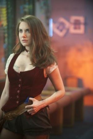 Alison Brie as Annie Edison on Community NBC