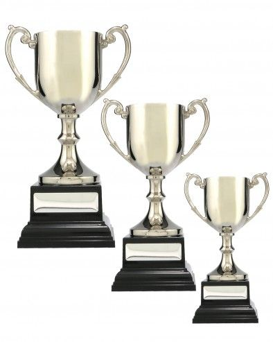 Cup Premium Metal Silver | Rewards International - The Best & Fairest for Sporting Trophies, Corporate Awards, Promotional Gifts and Engraving Services