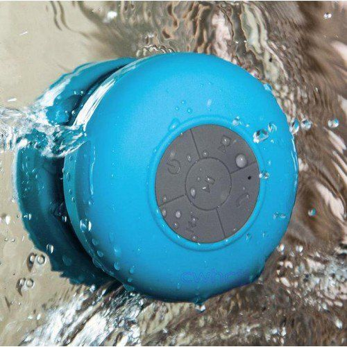 Bluetooth Wireless Shower Speaker - Yellow Octopus