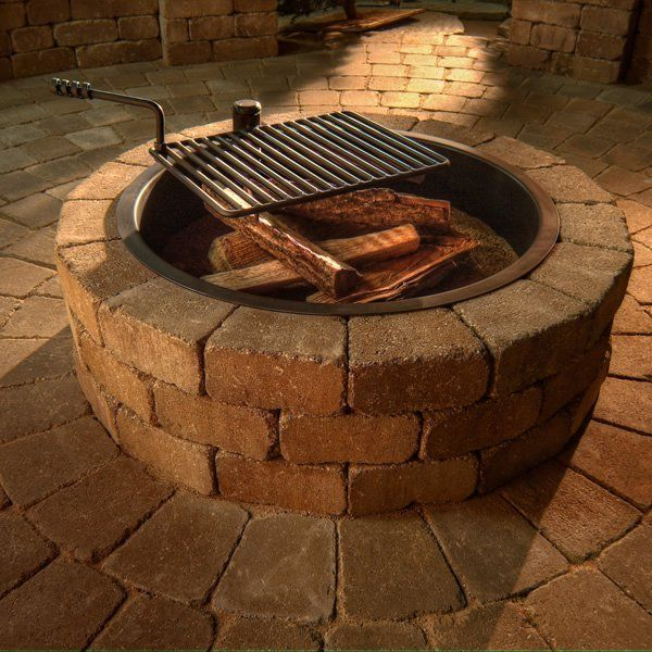 Large Campfire Ring Fire Pit Liner 45 Dia X 14 Deep Fire Pit Liner Fire Pit Campfire Ring