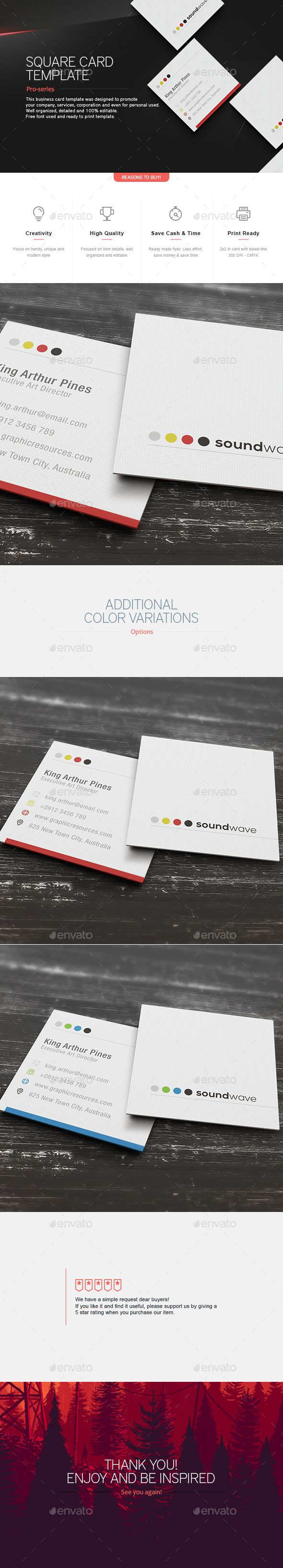Best 25+ Business card design templates ideas on Pinterest ...