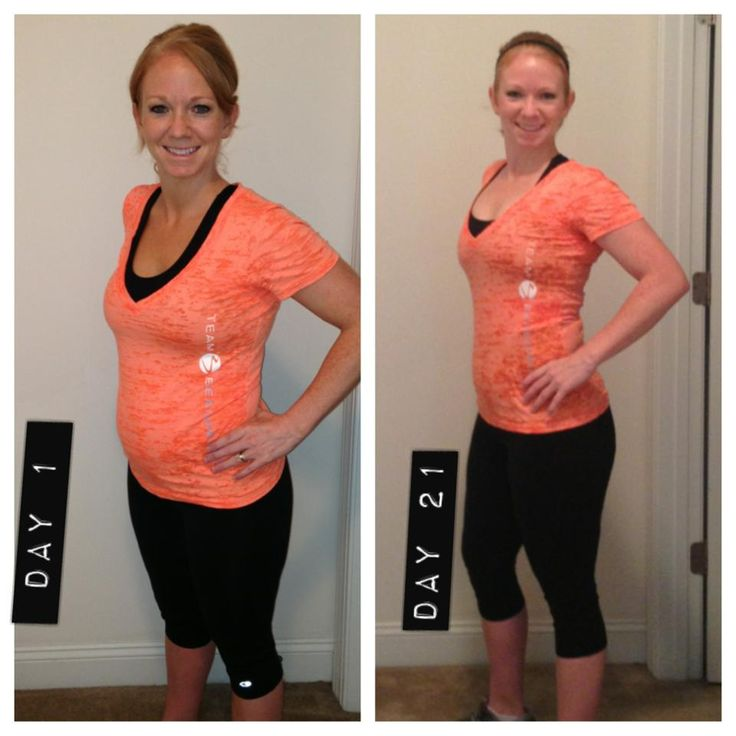Before and After ~ Fitness Results from my 21 day fitness ...