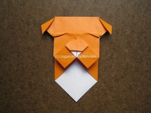 origami monster bookmark instructions