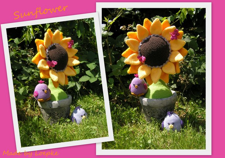 Sunflower (pattern by Mala Designs)