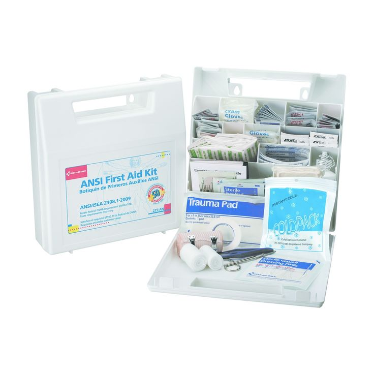 First Aid Only First Aid Kit for 50 People, 196pc -Osha/Ansi Compliant,