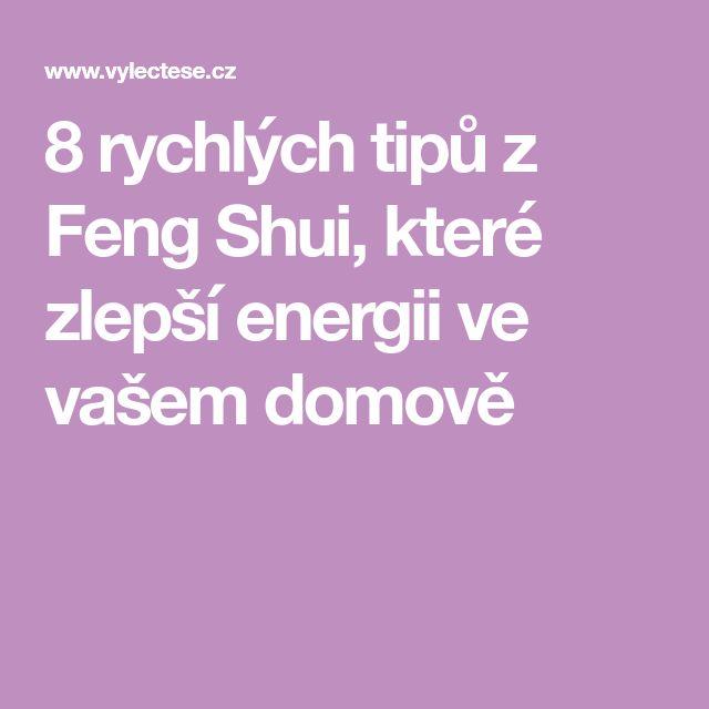 8 rychlých tipů z Feng Shui, které zlepší energii ve vašem domově