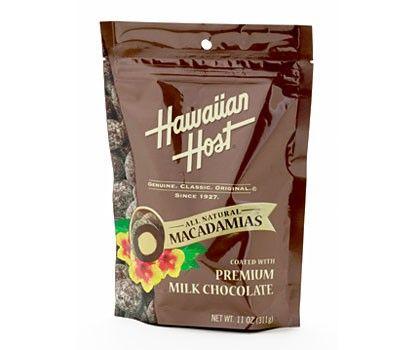 Hawaiian Host Premium Milk Chocolate Macadamias (11 oz)
