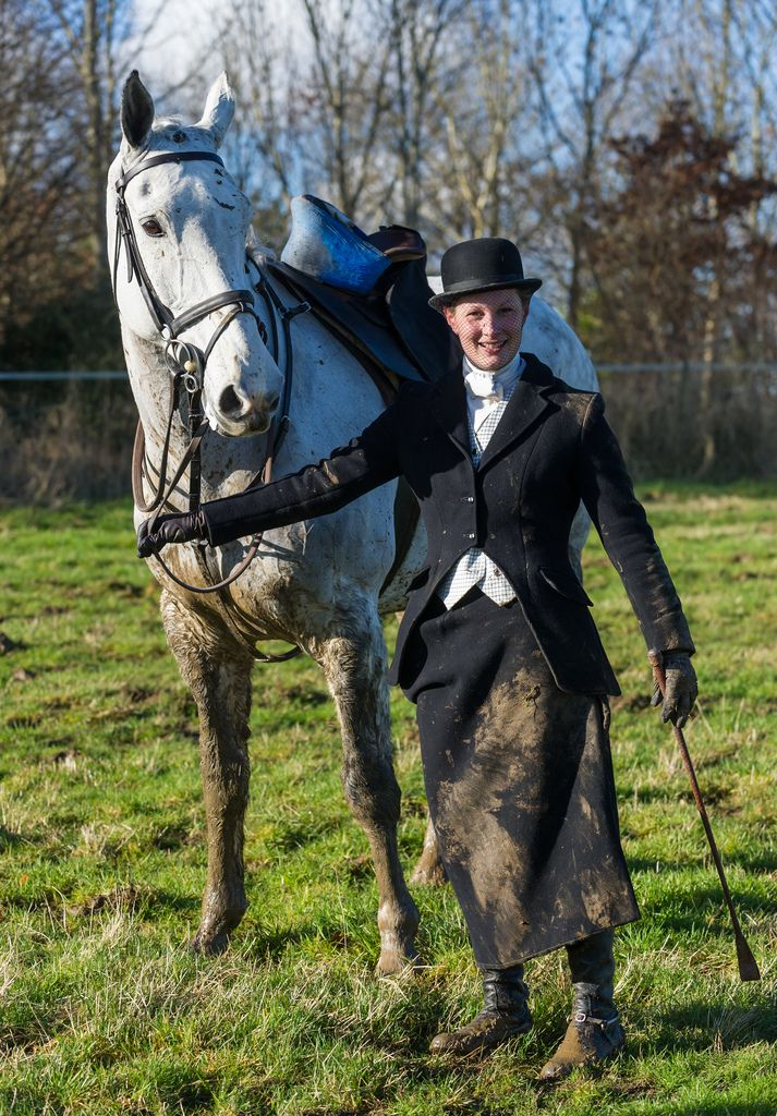 Where Else Can You Find Muddy Formal Attire Horses