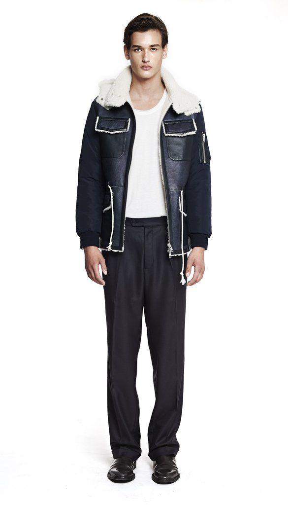 Shearling Field Jacket | Martin Asbjørn