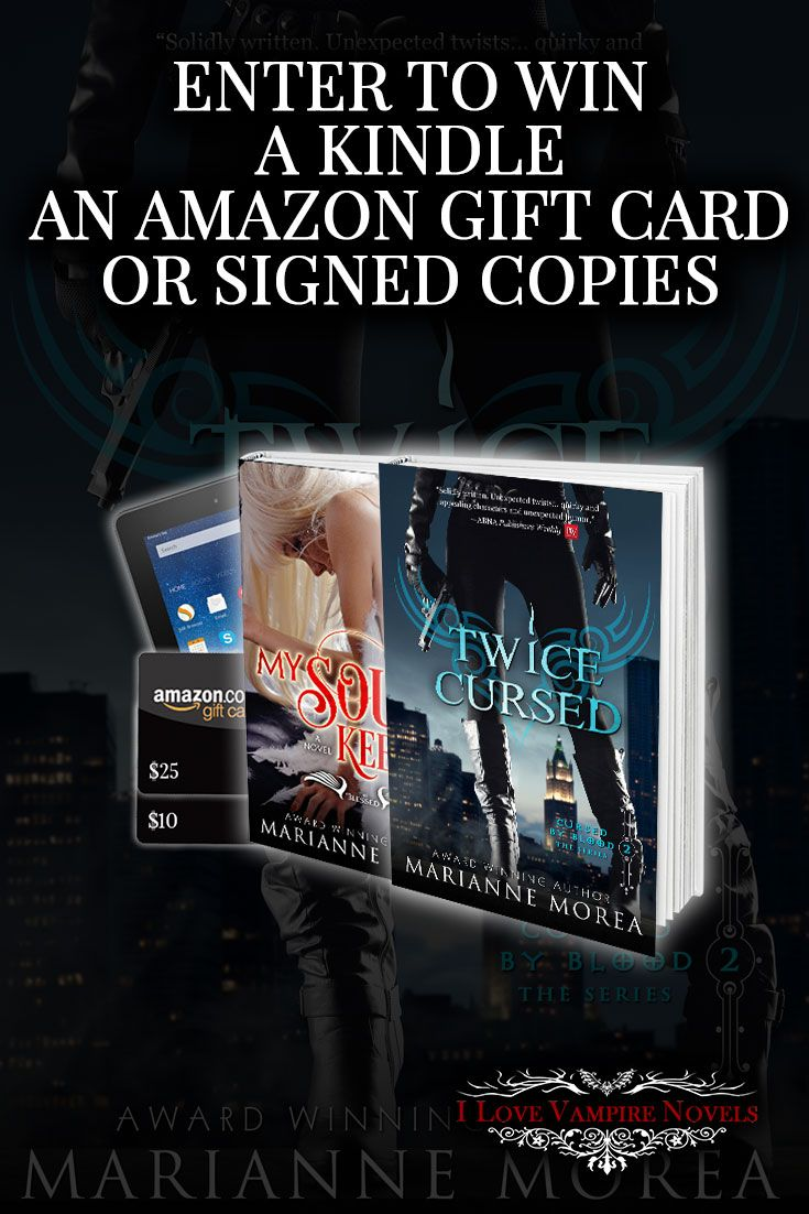 Win a Kindle Fire, up to $35 in Amazon Gift Cards or a Signed Paperback from Bestselling Author Marianne Morea