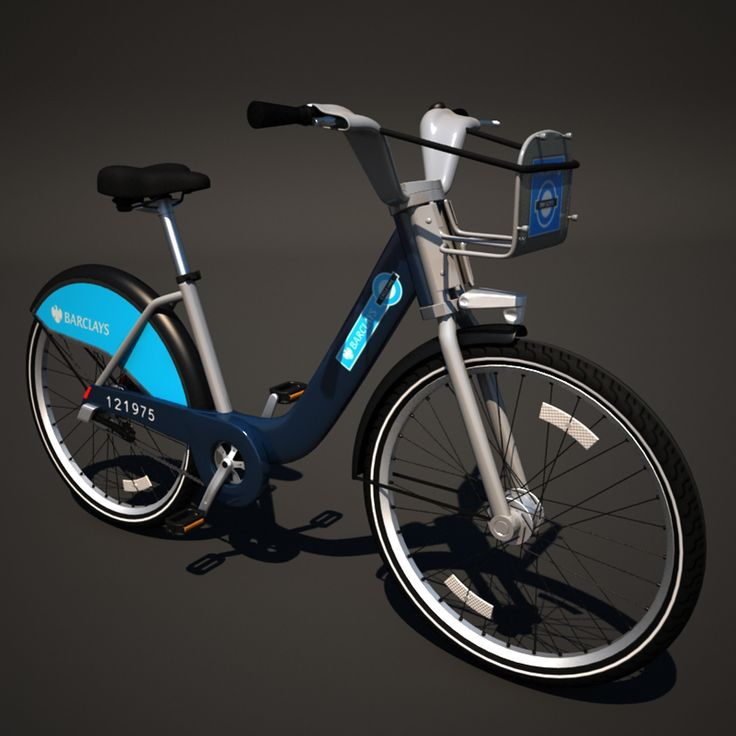 3D MODEL: https://www.turbosquid.com/3d-models/barclays-cycle-hire-max/601625?referral=cermaka