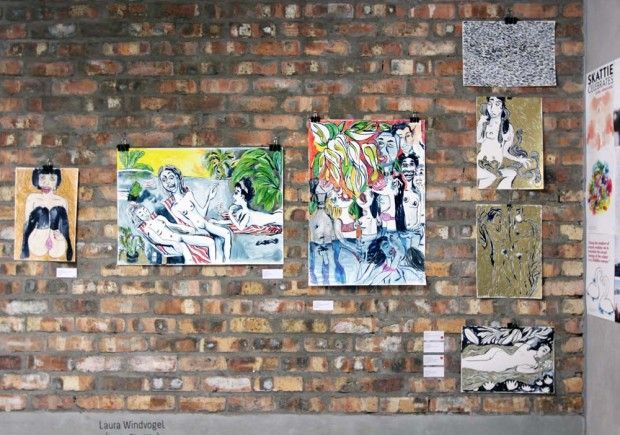 THAT ART FAIR 2015 In Pictures - http://10and5.com/2015/03/02/that-art-fair-2015-in-pictures/