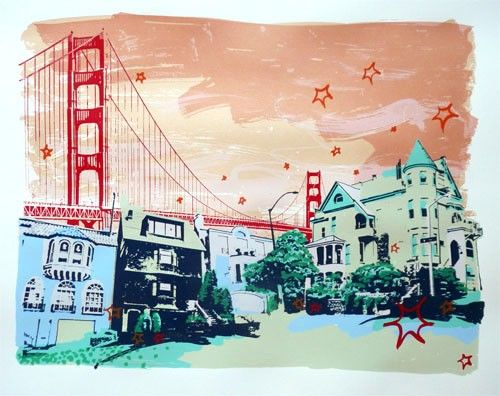 love this artist and her prints. I WILL own a large one, one day - Hilary Williams