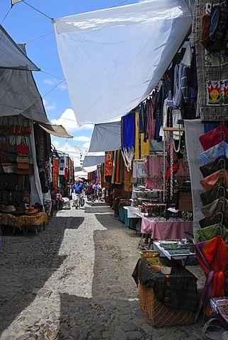 Mercado, Chichicastenango, Guatemala, América Central