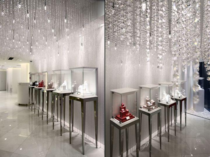 GALA BRIDAL jewelry store display.