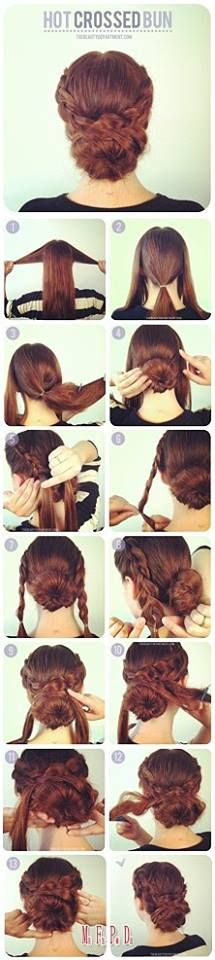 How to do Hairstyles, beautiful elegant look