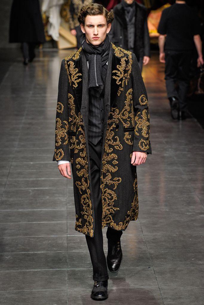 Dolce & Gabbana - Fall 2012 Menswear - Look 42 of 76