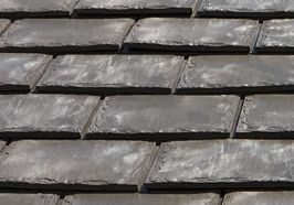 Euroshield® rubber roofing shingles are manufactured from recycled tire rubber; eco-friendly, affordable, hail resistant & will never crack.