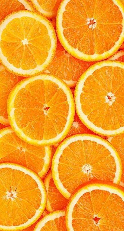 Trendy light orange aesthetic wallpaper Ideas | Fruit ...