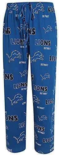 Detroit Lions Mens Sport Royal Sweep Pajama Pants  https://allstarsportsfan.com/product/detroit-lions-mens-sport-royal-sweep-pajama-pants/  Athletic Loose Fit, Machine Washable Body Licensed Lions Sleep Apparel Made from 100% Soft Cotton Material for Comfort