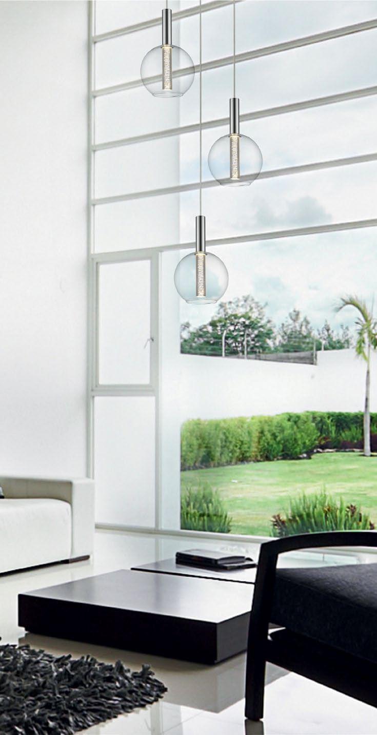 Rodzina Zuma LINE EIRENE to nowa generacja lamp ledowych, które świecą mocnym światłem przy niskim zużyciu energii. Nowoczesny wygląd sprawia, że lampa będzie pięknym i eleganckim dodatkiem do salonu i sypialni.