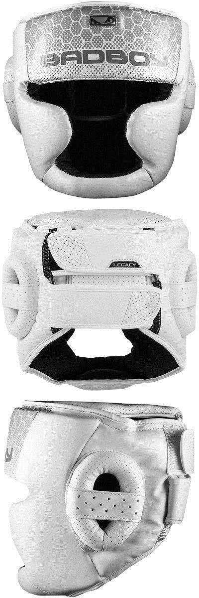 Head Gear 179780: Bad Boy Legacy 2.0 Protective Mma Sparring Training Headgear - White -> BUY IT NOW ONLY: $99.99 on eBay!