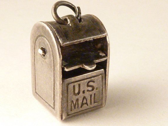 Mechanical charm Vintage   Sterling Silver  US by undermycharm, $16.00