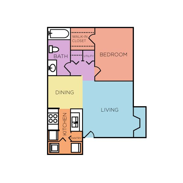 The broadway is our 700 sq ft 1 bedroom 1 bathroom floor - 1 bedroom apartments everything included ...