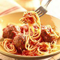 Spaghetti and Meatballs | rachaelraymag.com