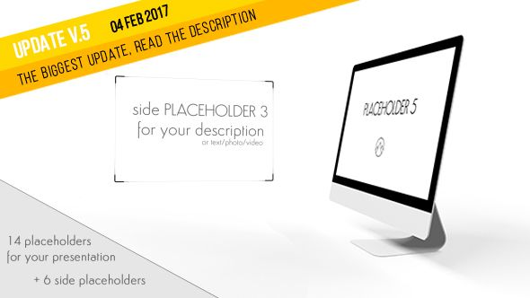 Desktop Website / App Presentation