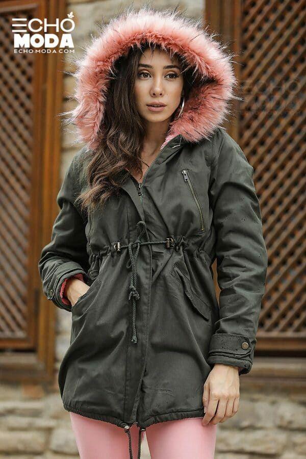 للبيع 16 جاكيت نسائي شتوي تركي أنيق موديل 2021 Bomber Jacket Winter Winter Women Winter Jackets
