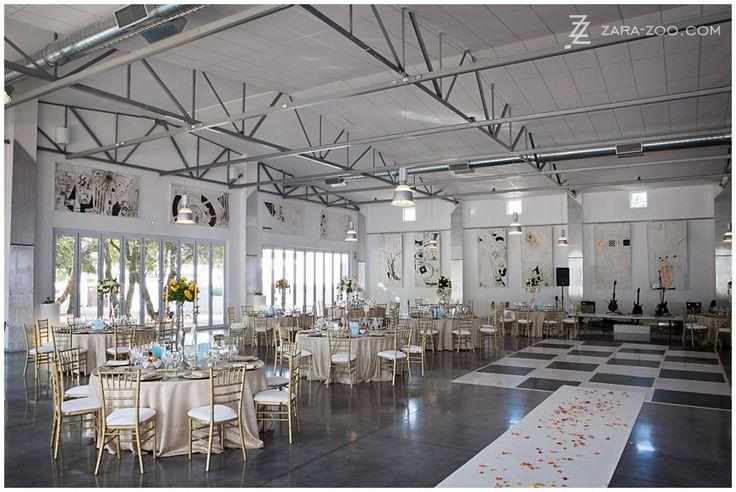 "Top 10 Wedding Venues Western Cape (10 8)  at ""Le Grand Hall"" @ Allee Bleue Estate, Franschhoek   ( ART BY EMIL SOGOR)"