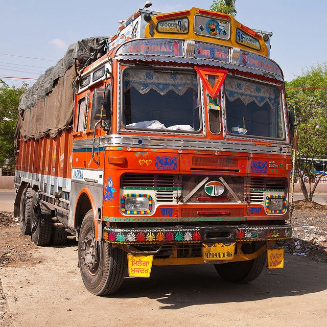 Decorated Truck - Indore, India (055) | Flickr - Photo Sharing!