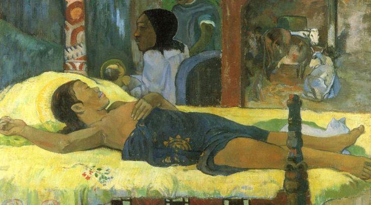 Paul Gauguin (1848-1903): Jesu Kristi fødsel, 1896.Foto: Wikimedia Commons