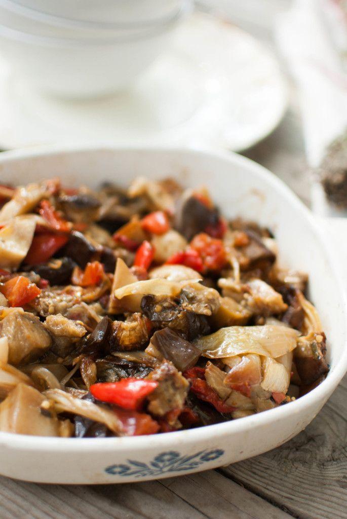 Une touche de miel | Briam | Légumes rôtis au four façon grecque | http://www.unetouchedemiel.com